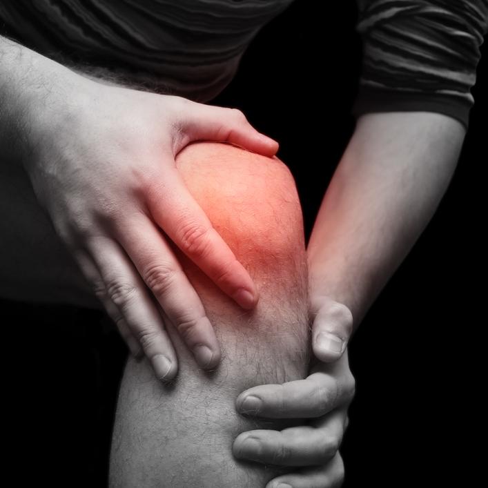 Артроз колено